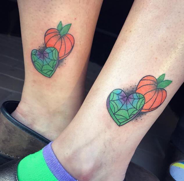 Unique Matching Tattoos