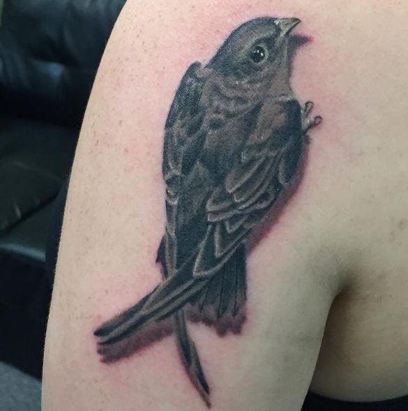 3d Sparrow Wildlife Tattoos