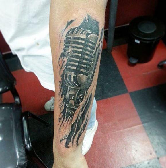 Music Tattoo On Arm 11