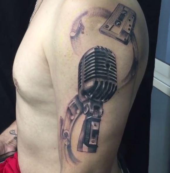 Music Tattoo On Arm 12