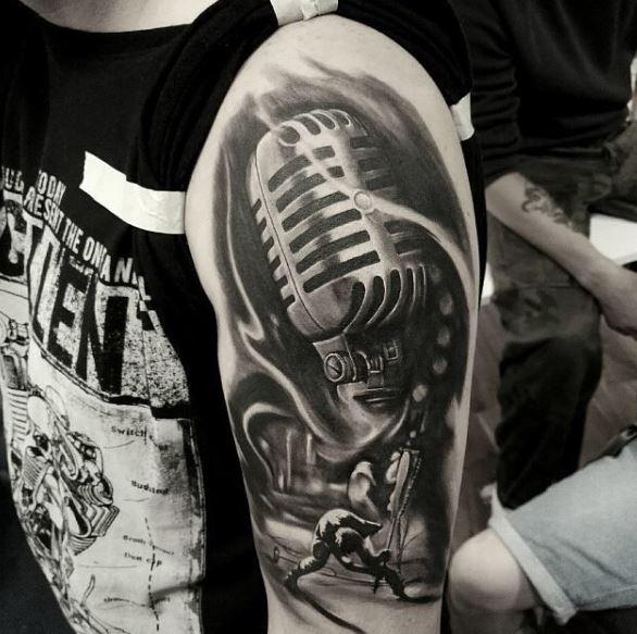 Music Tattoo On Arm 13