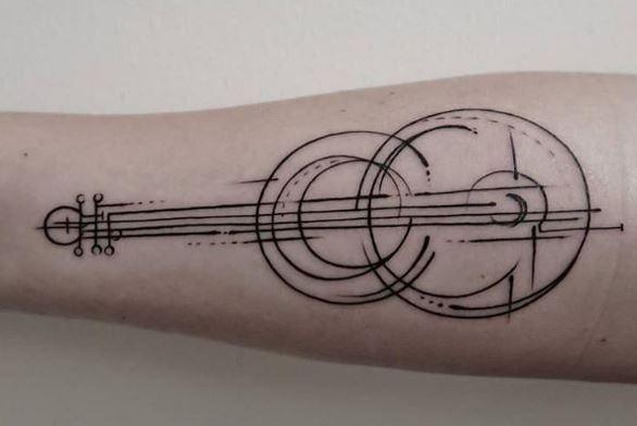 Music Tattoo On Arm 18