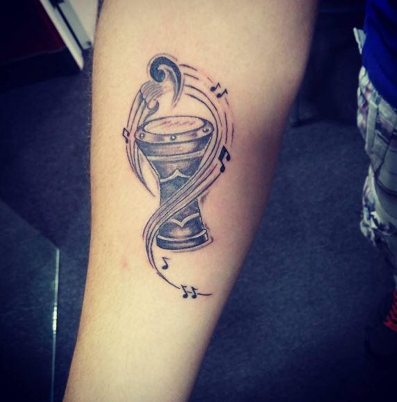 Music Tattoo On Arm 21