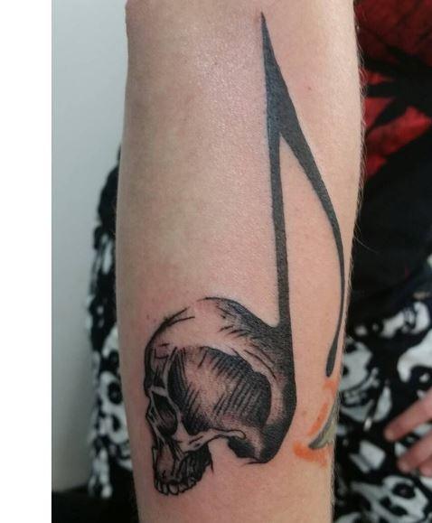 Music Tattoo On Arm 27