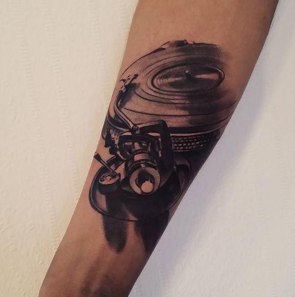 Music Tattoo On Arm 28