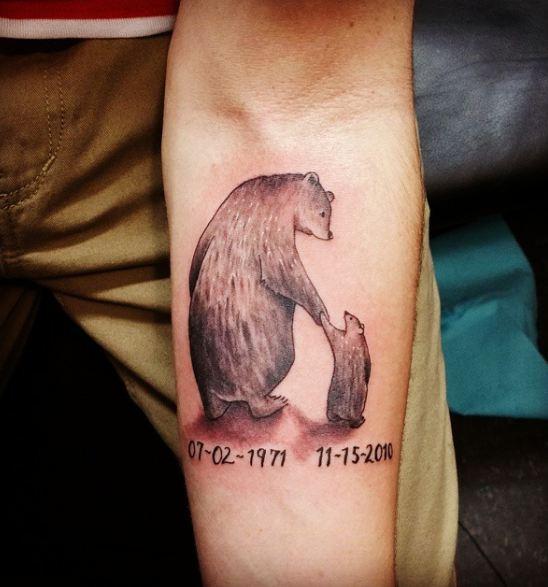 Animal Father Son Tattoos