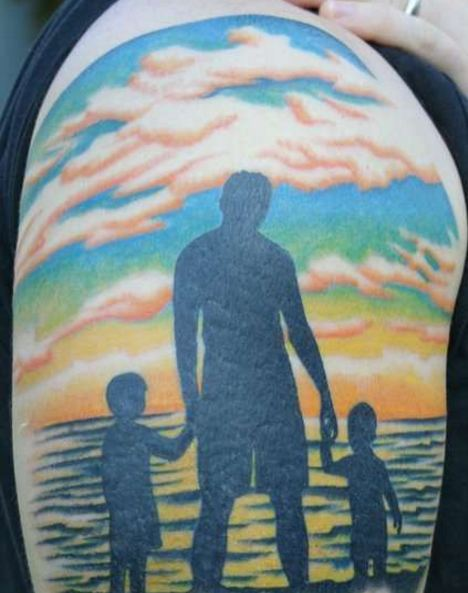 Awesome Father Son Tattoos