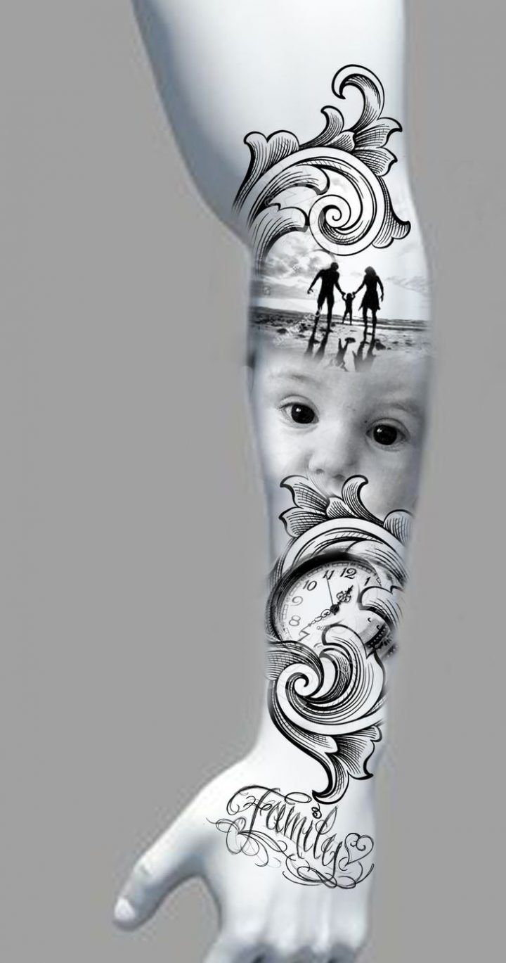 Baby Name Tattoos For Dads (2)