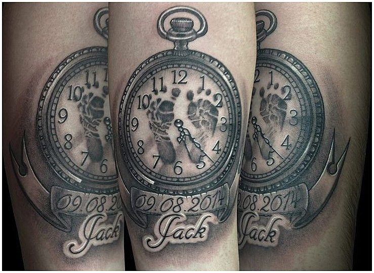 Baby Name Tattoos For Dads (4)