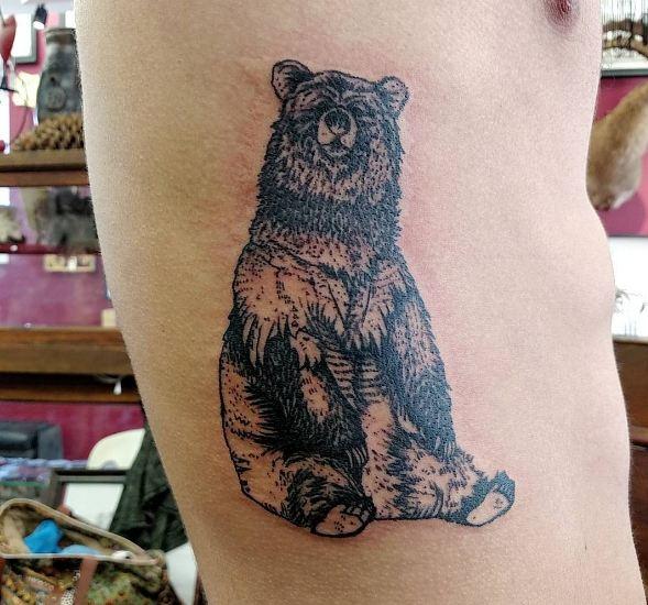 Bear Wildlife Tattoos