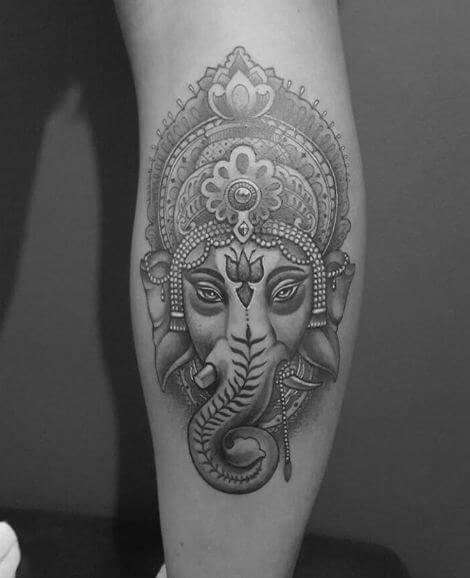 Beautiful Ganesha Tattoos