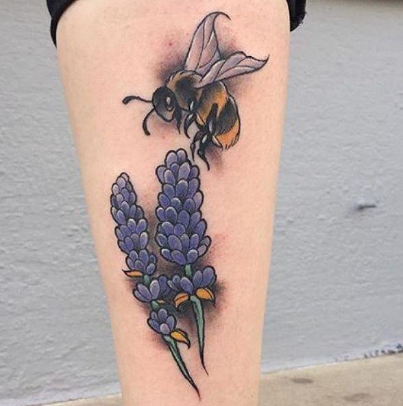 Bee Wildlife Tattoos