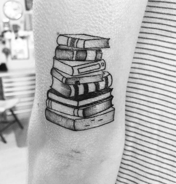 Book Elbow Tattoos