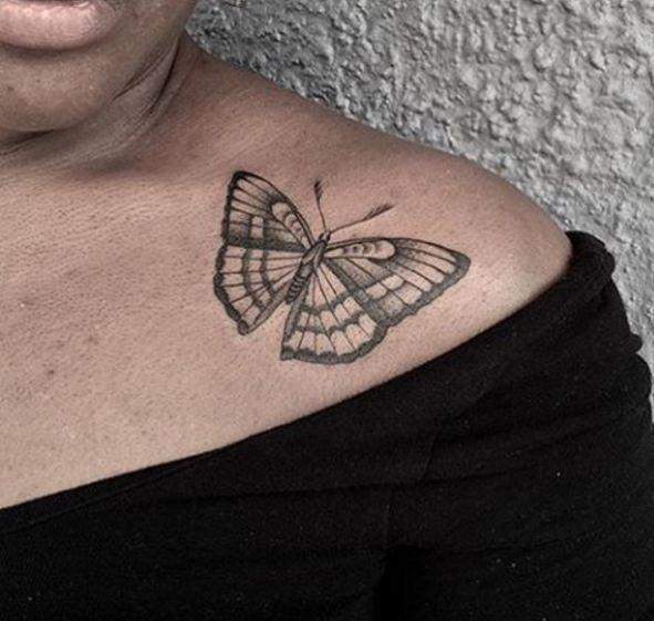 Butterfly Wildlife Tattoos