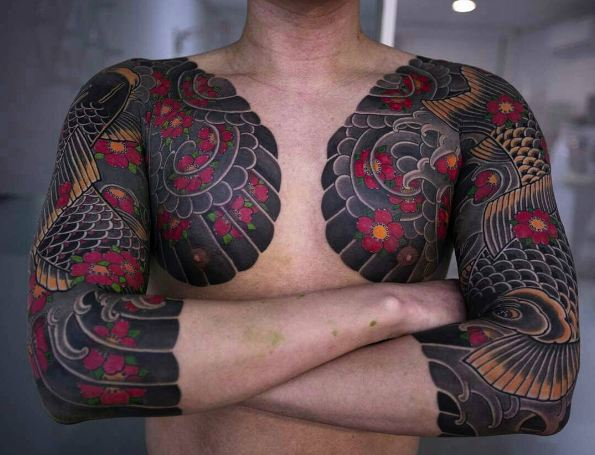 Chest Sleeve Tattoos