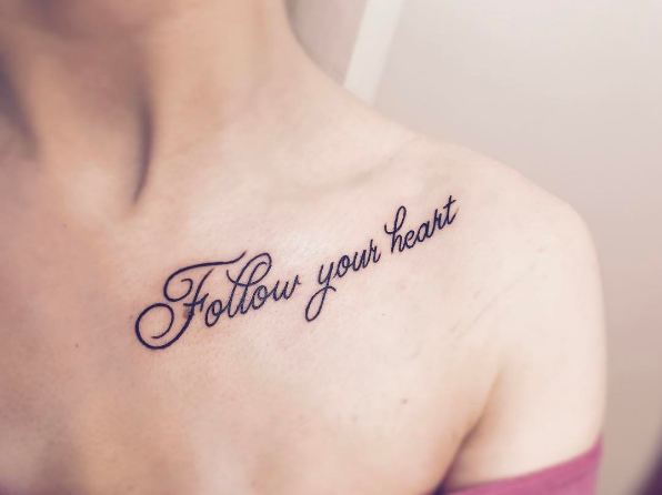 Collarbone Tattoo Designs