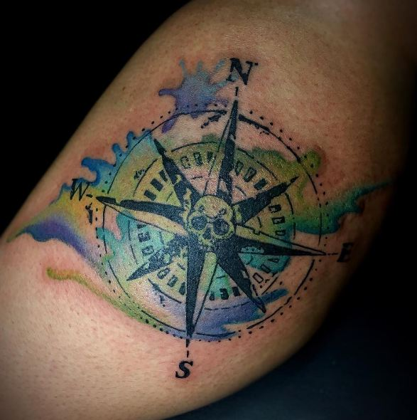 Cool Compass Tattoos