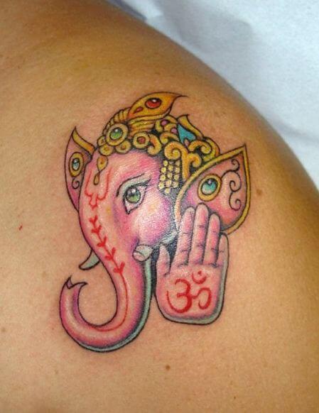 Cool Ganesha Tattoos