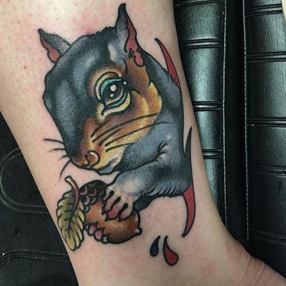 Cool Wildlife Animal Tattoos