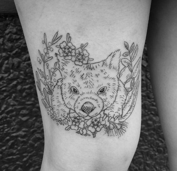 Cute Wildlife Tattoos