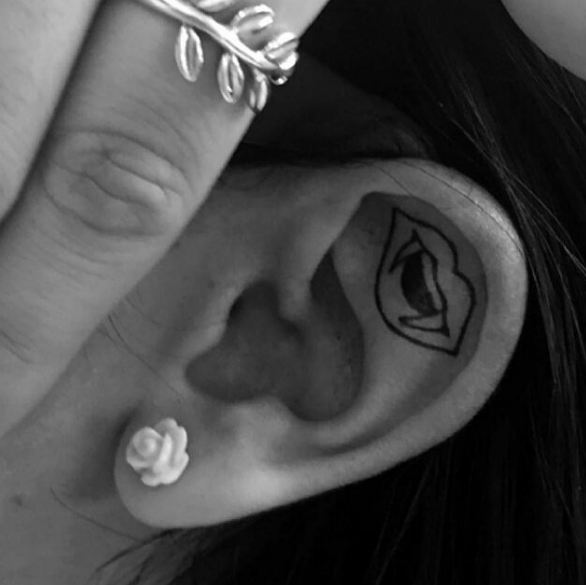 Devil Ear Tattoos