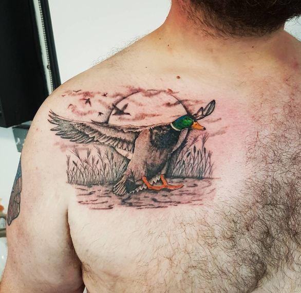 Duck Wildlife Tattoos