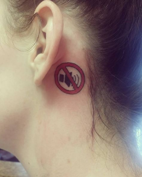 Ear Tattoos Music