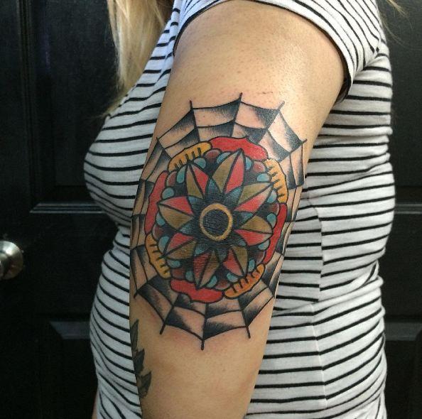 Elbow Tattoos For Girl