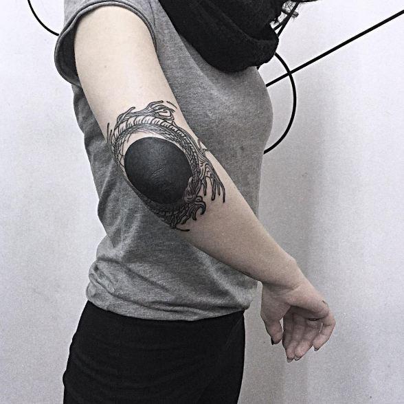 Elbow Tattoos For Women
