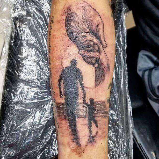 Father Son Memorial Tattoos