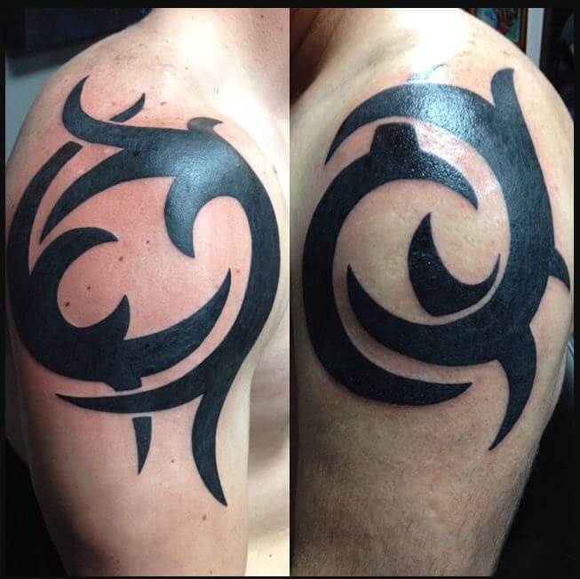 Father Son Tribal Tattoos