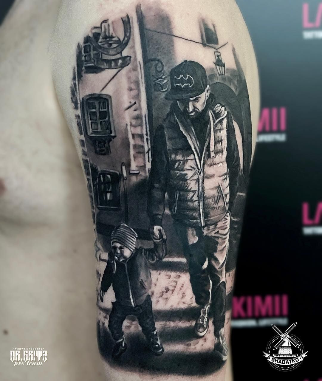 Father To Son Tattoo (10)