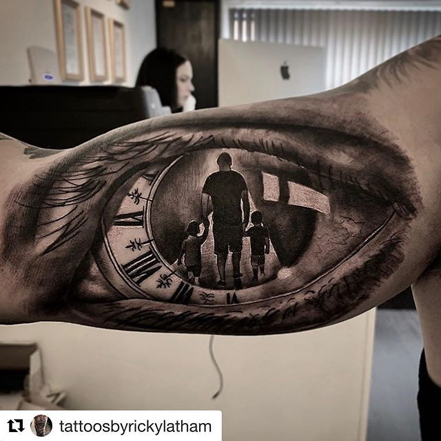 Father To Son Tattoo (9)