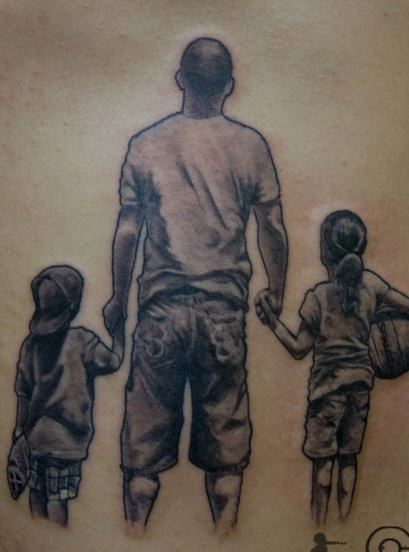 Father To Son Tattoos (2)