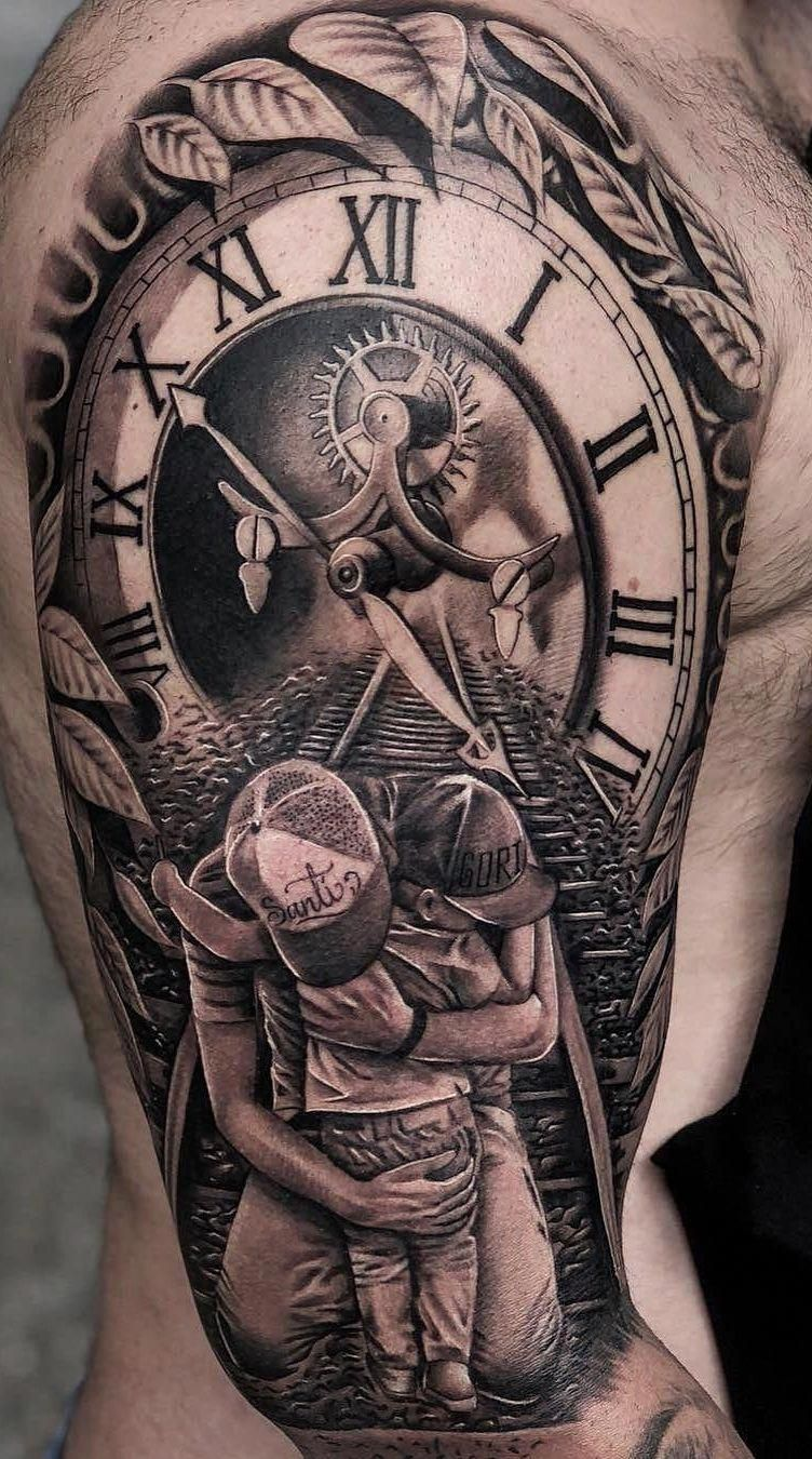 Father To Son Tattoos (3)