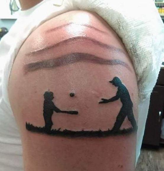 Fun Father Son Tattoos