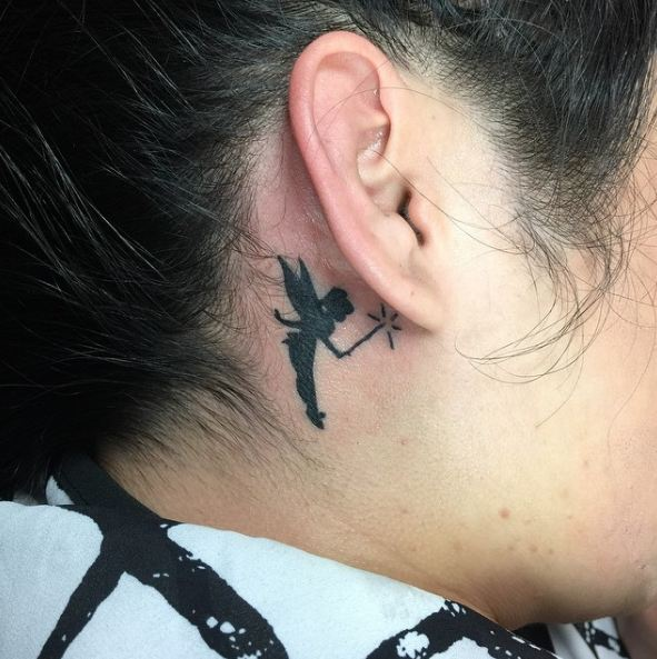 Inkerbell Ear Tattoos