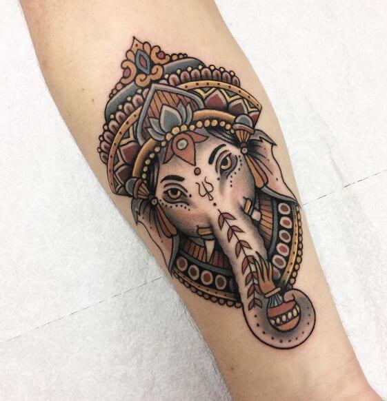 Lord Ganesha Tattoos
