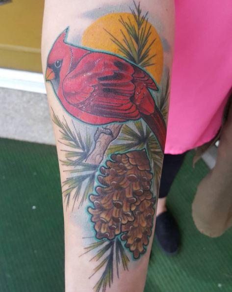 Lovely Bird Wildlife Tattoos