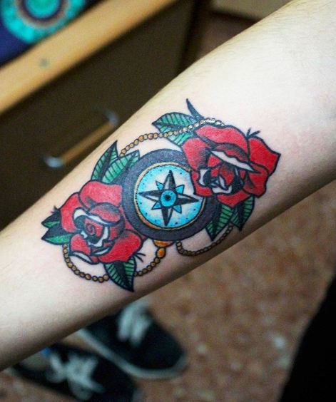 New Compass Tattoos
