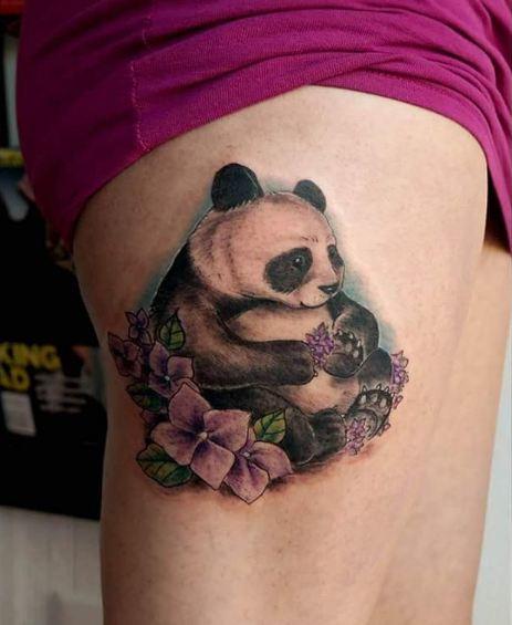 Panda Wildlife Tattoos