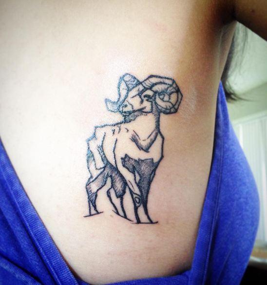 Sheep Wildlife Tattoos