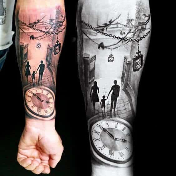 Sons Tattoo For Father (4)