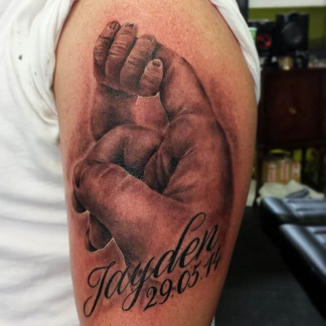 Tattoos For A Son On Father
