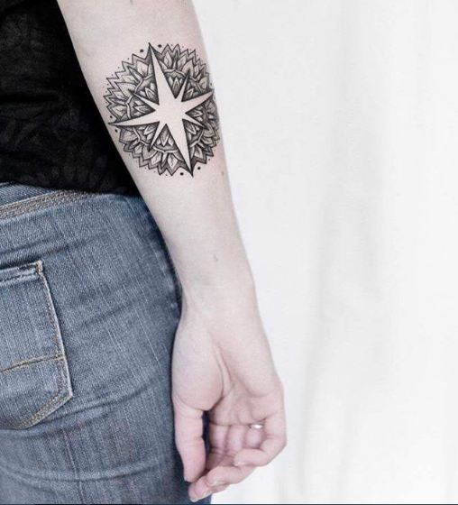 Unique Compass Tattoos