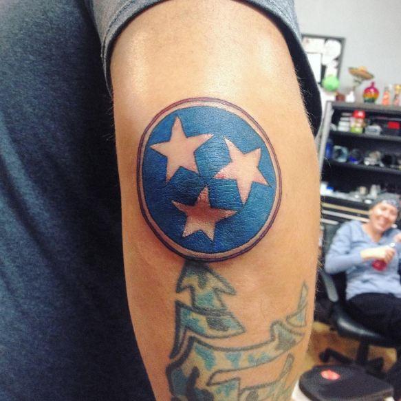 Unique Elbow Tattoos