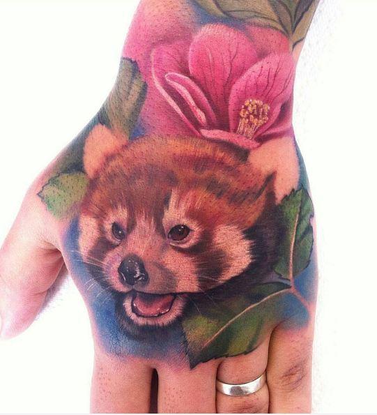 Wildlife Tattoos On Hand