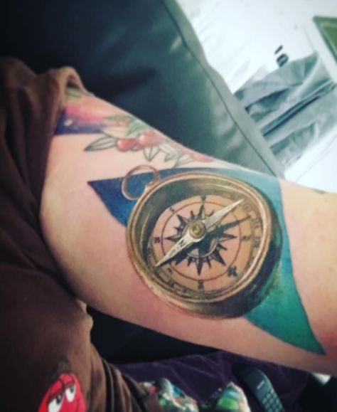 Wonderful Compass Tattoos