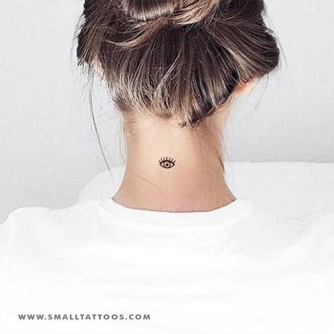 Back Of Neck Tattoos For Women (102)