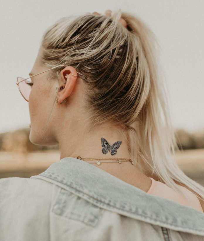 Back Of Neck Tattoos For Women (105)